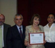 IMPARTE CONFERENCIA LA MAGISTRADA MARIA DE LOURDES DIB Y ÁLVAREZ EN LA UNIVERSIDAD IBEROAMERICANA DE PUEBLA.