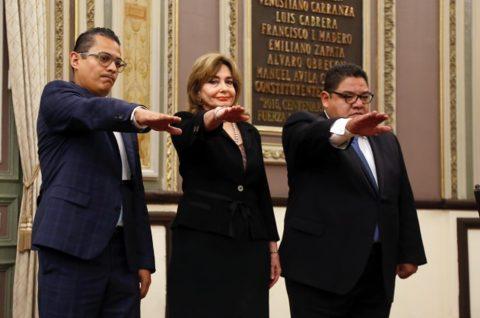 TOMAN PROTESTA MAGISTRADOS DEL TRIBUNAL DE JUSTICIA ADMINISTRATIVA DEL ESTADO DE PUEBLA ANTE EL PLENO DEL CONGRESO.