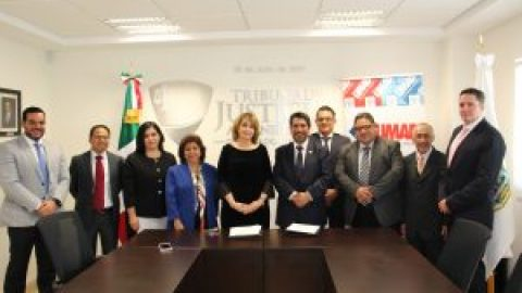 UNIVERSIDAD MADERO Y TRIBUNAL DE JUSTICIA ADMINISTRATIVA DEL ESTADO DE PUEBLA FIRMAN CONVENIO DE COLABORACIÓN ACADÉMICO