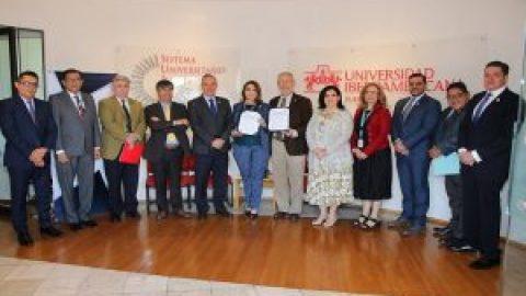 UNIVERSIDAD IBEROAMERICANA Y TRIBUNAL DE JUSTICIA ADMINISTRATIVA FIRMAN CONVENIO MARCO DE COLABORACIÓN ACADÉMICA