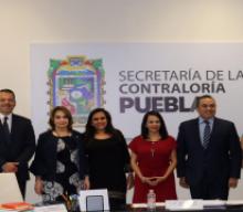 MARÍA DE LOURDES DIB Y ÁLVAREZ, PRESIDENTA DEL TRIBUNAL DE JUSTICIA ADMINISTRATIVA DEL ESTADO DE PUEBLA, EN SU CALIDAD DE INTEGRANTE DEL COMITÉ COORDINADOR DEL SISTEMA ESTATAL ANTICORRUPCIÓN, PARTICIPA EN PRIMERA SESIÓN ORDINARIA DEL COMITÉ COORDINADOR DEL SISTEMA ESTATAL ANTICORRUPCIÓN