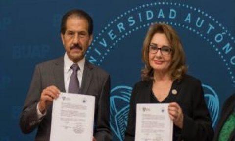 TRIBUNAL DE JUSTICIA ADMINISTRATIVA DEL ESTADO DE PUEBLA FIRMA DE CONVENIO CON LA BENEMÉRITA UNIVERSIDAD AUTÓNOMA DE PUEBLA