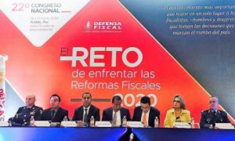 """ASISTE MAGISTRADA PRESIDENTA AL 22 CONGRESO NACIONAL DE LA REVISTA DEFENSA  FISCAL:""""EL RETO DE ENFRENTAR LAS REFORMAS FISCALES 2020"""""""