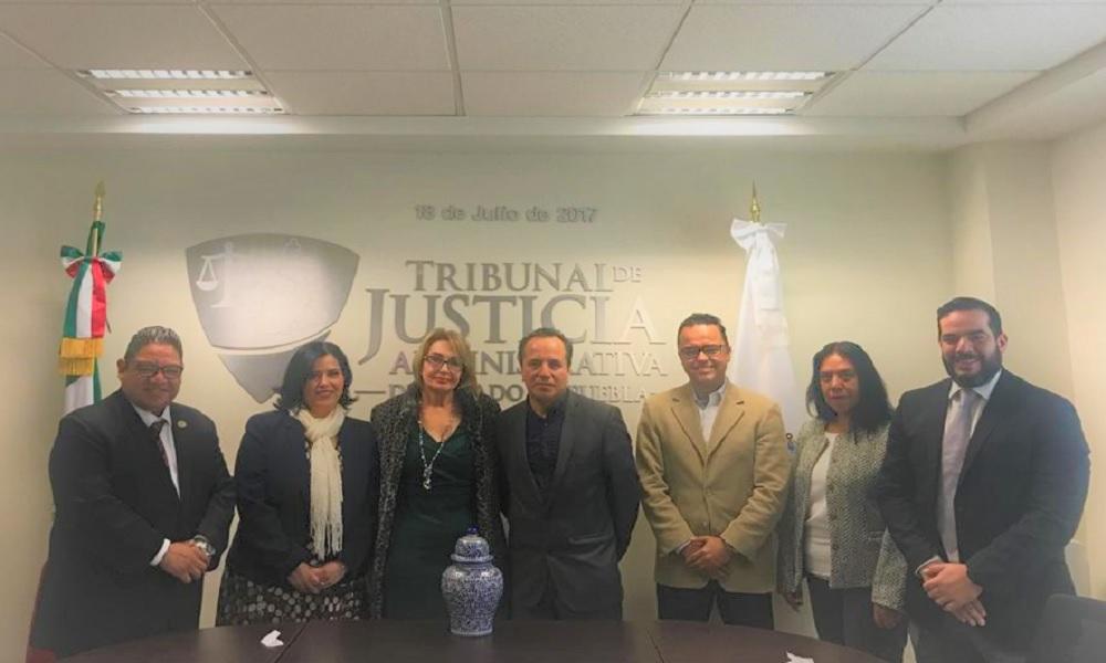 POR SEGUNDO AÑO CONSECUTIVO LA UNIVERSIDAD DE LAS AMÉRICAS PUEBLA OTORGA BECA DEL 100% PARA EL TRIBUNAL DE JUSTICIA ADMINISTRATIVA  DEL ESTADO DE PUEBLA.