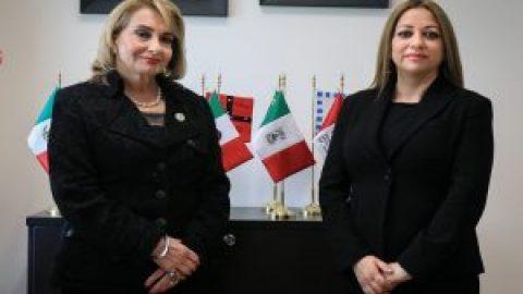 """VISITA DE ALMA ROSA OCHOA RAMÍREZ, DIRECTORA DE LA CASA DE LA CULTURA JURÍDICA EN PUEBLA, """"MINISTRO ERNESTO SOLÍS LÓPEZ""""."""