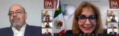 """MAGISTRADA PRESIDENTA MARÍA DE LOURDES DIB Y ÁLVAREZ, IMPARTE CONFERENCIA """"CREACIÓN DEL TRIBUNAL DE JUSTICIA ADMINISTRATIVA DEL ESTADO DE PUEBLA Y RETOS PARA SU CONSOLIDACIÓN"""""""