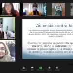 """SERVIDORAS Y SERVIDORES PÚBLICOS DEL TJAEP PARTICIPARON EN LA CONFERENCIA """"DERECHO A UNA VIDA LIBRE DE VIOLENCIA"""", IMPARTIDA POR LA MTRA. ROSA CARMINA PARADA AGUILAR."""